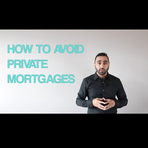 How to Avoid Private Mortgages