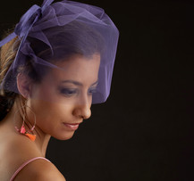 - Allure, It - Pice purple hairbow -
