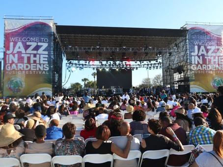 Jazz in The Gardens Festival Postponed Amid Coronavirus Concerns