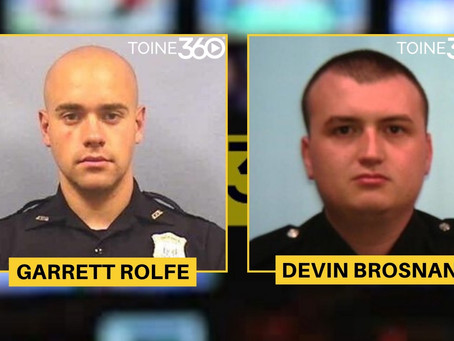 Atlanta Officer Who Fatally Shot Rayshard Brooks FIRED. Other Cop Involved Placed On Admin Leave