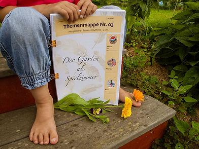 Themenmappe Garten-Kindergarten-Kiga-Kit