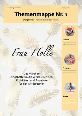 Frau Holle-Märchen-Kindergarten-Kita-Kig