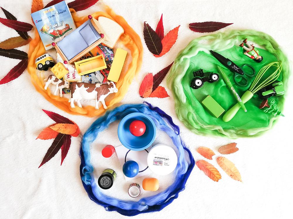Farben, Formen und Zahlen in Kita und Kindergarten