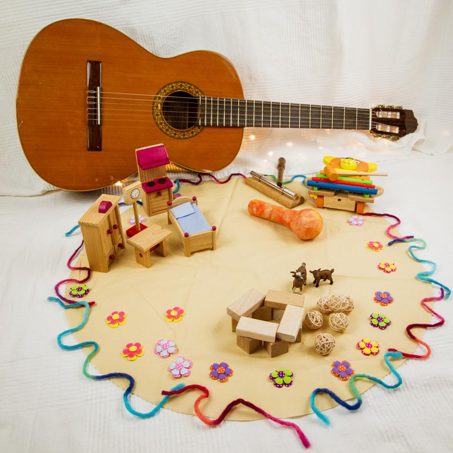 Märchen-der Wolf und die sieben Geißlein-Lied-Singspiel-Kindergarten-Kinder