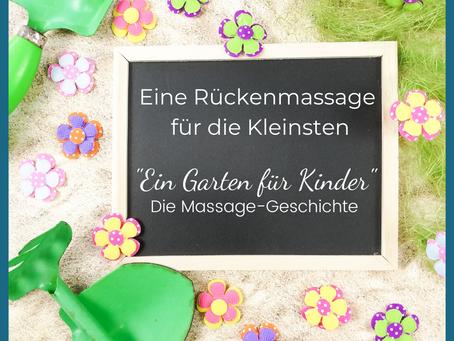 """Die Massage-Geschichte """"Ein Garten für die Kinder"""""""