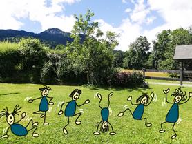 """Bewegungsstunde """"Abenteuer auf der Sommerwiese"""""""