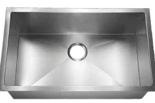 TMCP-3219 15 Gauge Stainless Steel Single Bowl