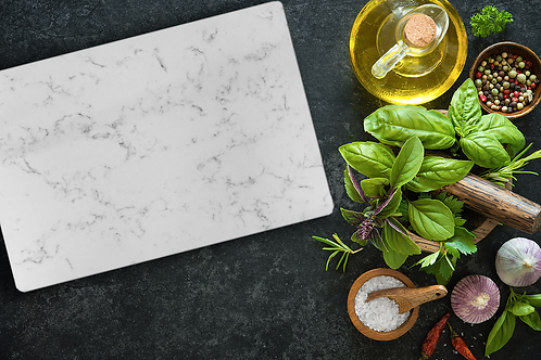 Personalized Marble Cutting Board 12x18