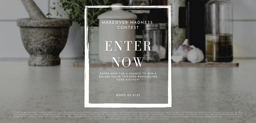 Makeover Madness Contest Website Banner.