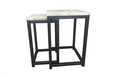 Stone Top Nesting Tables