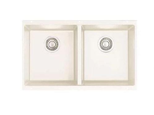 Blanco Precis Undermount Granite Kitchen Sink - White - 516320