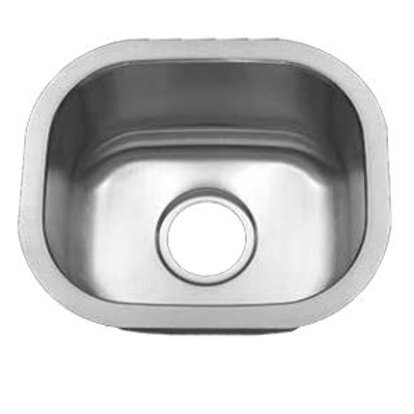 TMC-166 Stainless Steel Single Bowl (Small)