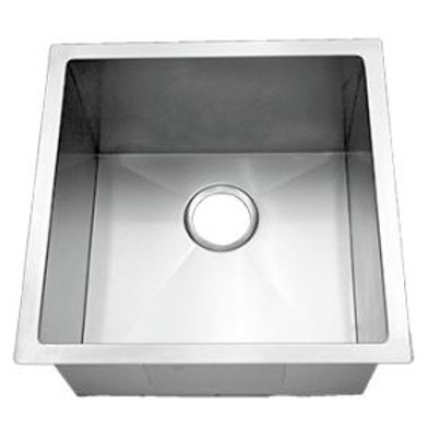 TMCP-1818 15 Gauge Stainless Steel Single Bowl