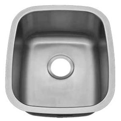 TMC-177 Stainless Steel Single Bowl (Medium)