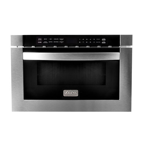 ZLine 24 in. 1.2 cu. ft. Stainless Steel Microwave Drawer