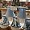 Thumbnail: Various small lampshades in blues