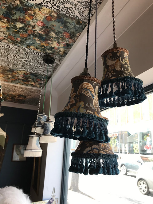 CANDLE LAMPSHADES ECLECTIC STYLE - BEIGE