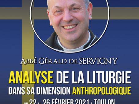 Analyse de la liturgie dans sa dimension anthropologique