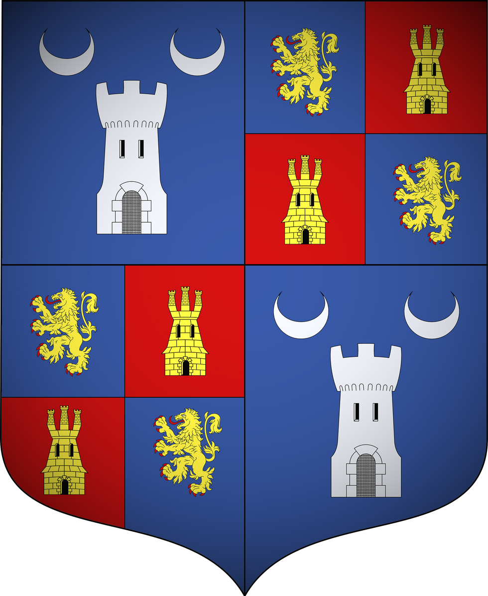 Blason de l'alliance GOMBERT-COMMANDAIRE