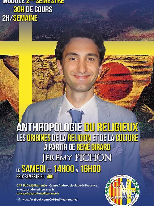 ANTHROPOLOGIE DU RELIGIEUX