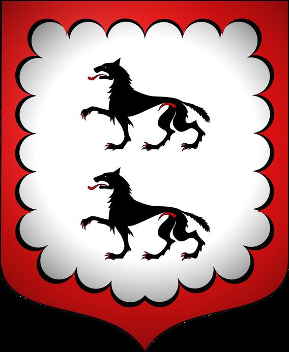 Blason famille de SALVE-VACHERES
