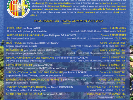 """Revue diocésaine """"FORMATIONS 2021-2022"""""""