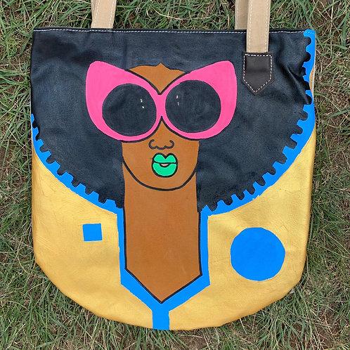 Tote Bag Handpainted 07