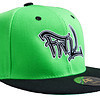 FML Snapback Lime Green and Black