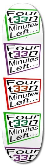 FML slant box logo deck White