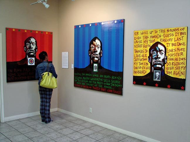 Milton in a Gallery