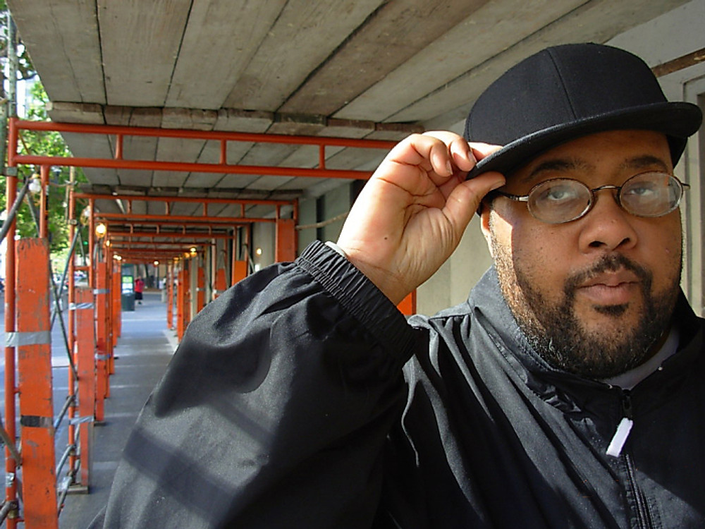 Gift of Gab of Blackalicious poses for UBO.  -- Photo by UBO Magazine Contributor Justin Herman