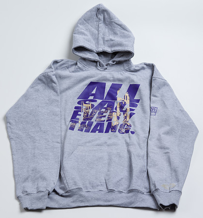 ALL SAC Hoodie Lite Gray with Purple