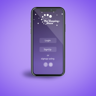 Sleeping Maze App