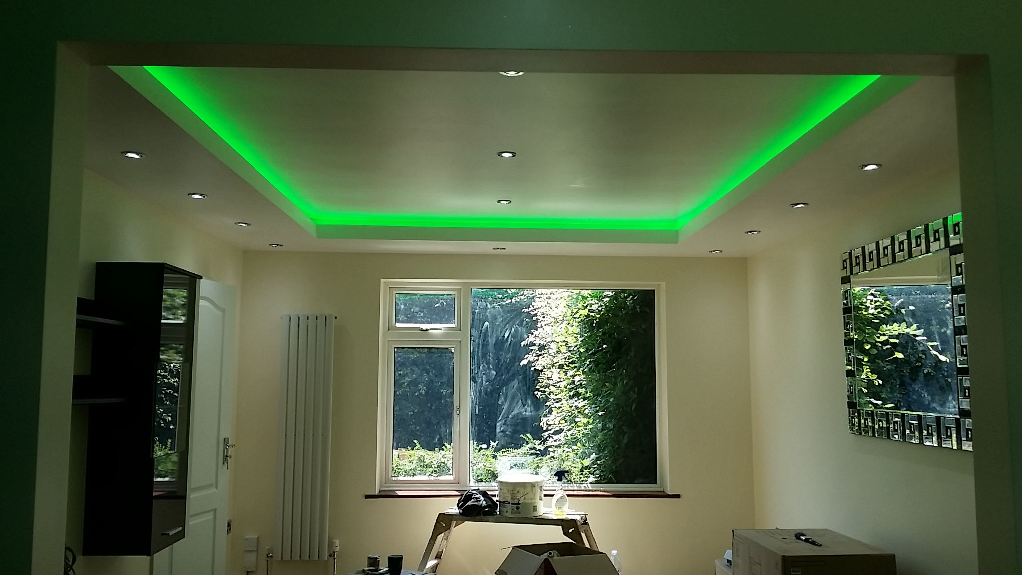 Recessed Ceiling - LED Lightining