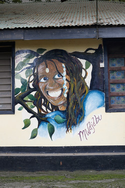 Portrait of Mama Mwajabu by BSU students
