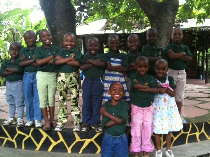 Watoto are all smiles