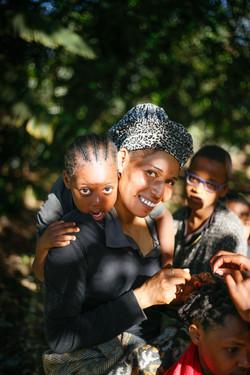 Mama Mwajabu, Fey and Maggie