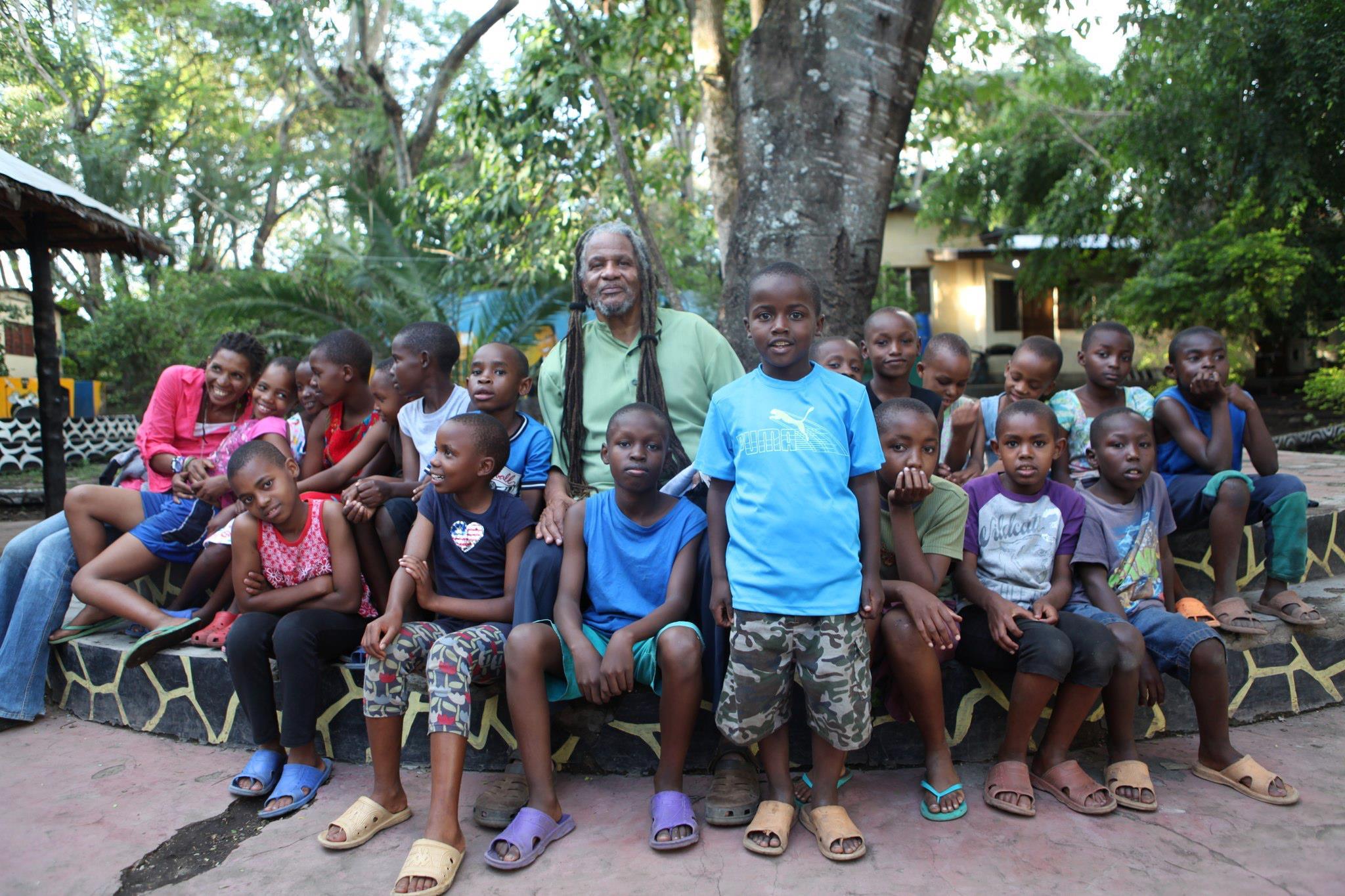 Babu and the kids