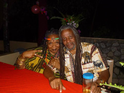 Mama C and Mzee Pete
