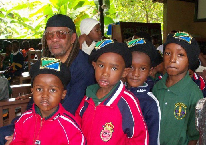 Mzee and the boys