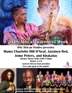 BSU African Awarness Week!