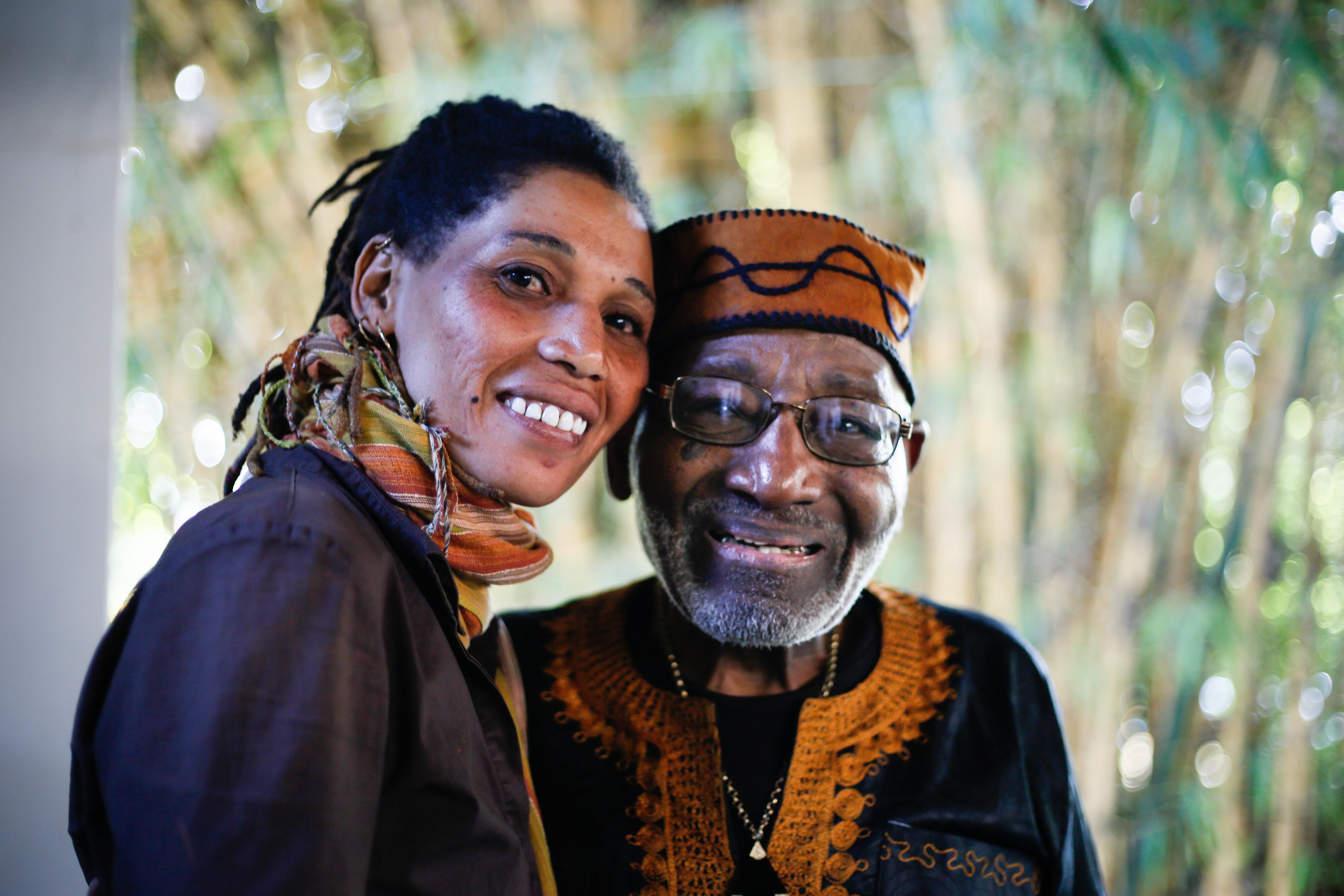 Mama Mwajabu and Mzee Sterling