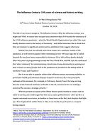 30.10.2018 Henry Cohen Lecture Dr Mark H