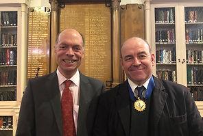 Professor Sneyd and Dr John Curtis