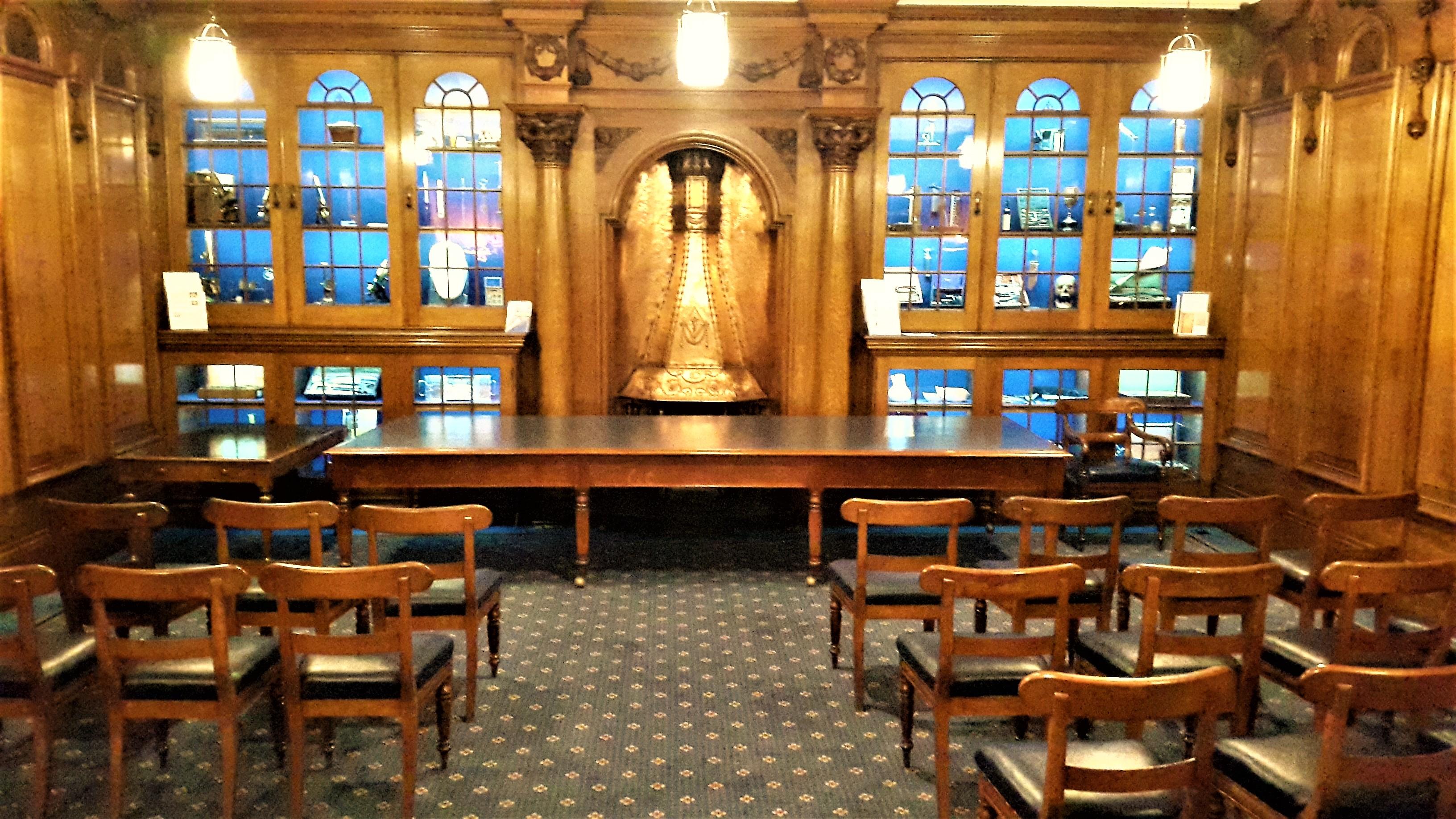 Council Room - Angled Aisle 6