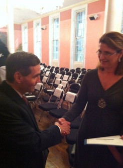 D.A. Cannizzaro with Lisa