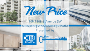 Amazing new price for this great downtown condo!
