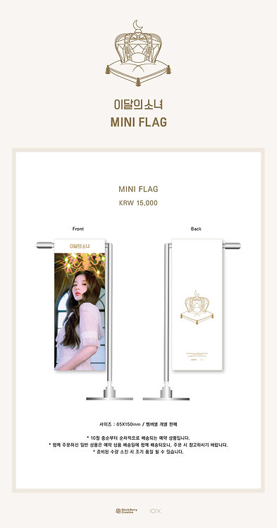 LOONA OFFICIAL MD MINI FLAG