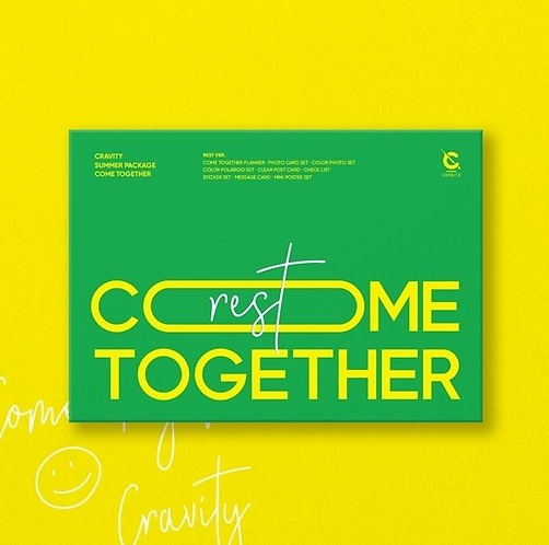CRAVITY SUMMER PHOTOBOOK COME TOGETHER (REST VER)