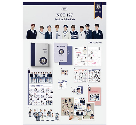 NCT127 2021 BACK TO SCHOOL KIT